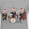 Christmas pig band - Women's Premium Longsleeve Shirt