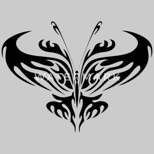 Tribal Tatuaż Motyl Od Chekkis Spreadshirt