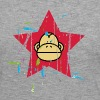 Aap Red Star - Monkey Revolution Shirts met lange mouwen - Vrouwen Premium shirt met lange mouwen