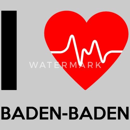 I Love Baden Baden Ich Liebe Baden Baden Frauen Premium