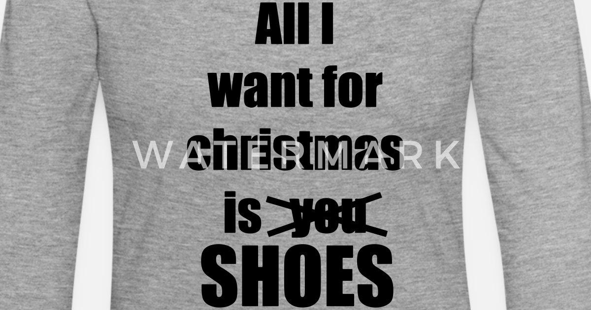 Weihnachten Lied Spruch schuhe von Shirtsforu   Spreadshirt