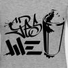 Yes We (spray) Can Graffiti hand style tag - Women's Premium Longsleeve Shirt