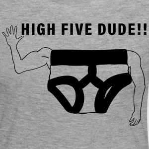 High Five - Camiseta de manga larga premium mujer