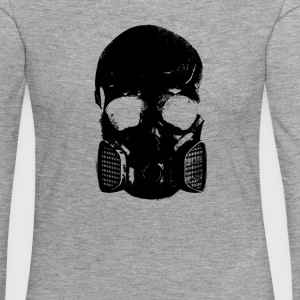 anti gas skull - Women's Premium Longsleeve Shirt