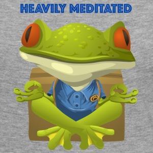 Heavily meditated - frog