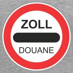 Road sign zoll douane