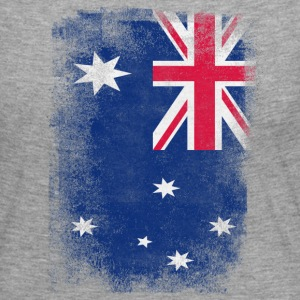 Australia Flag Proud Australian Vintage Distressed