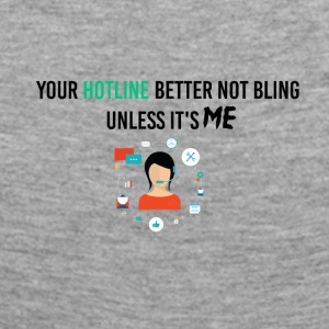 Your hotline better not bling - Frauen Premium Langarmshirt