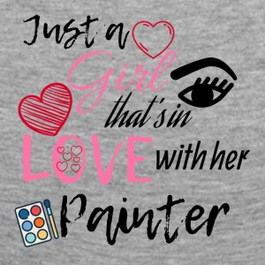 Just a girl that's in love with her painter - Frauen Premium Langarmshirt
