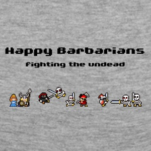 Happy Barbarians - Fighting the undead - Women's Premium Longsleeve Shirt
