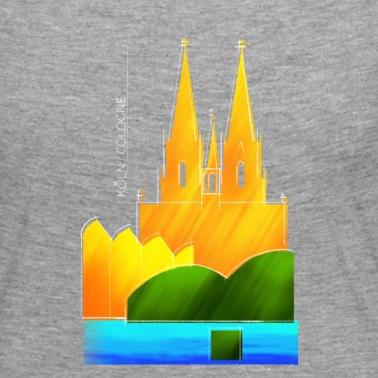 Köln Souvenir Motiv Für Helle Stoffe Männer Premium Hoodie Spreadshirt