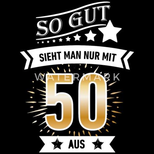 Geburtstag 50 50 Geburtstag Frauen Premium Langarmshirt