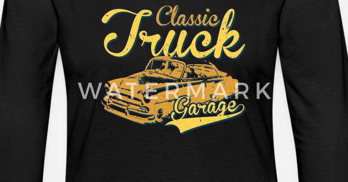 Garage T Shirts : Classic car garage truck trucker t shirt von nosuchbrand spreadshirt