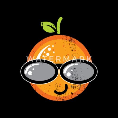 Cadeau De Dessin Drole Orange Avec Lunettes De Soleil De Bestseller