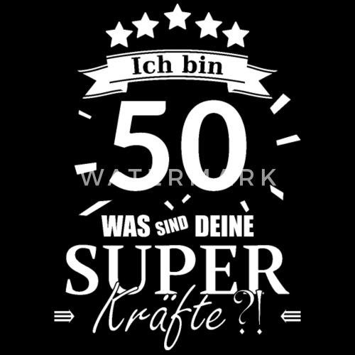 50 Geburtstag Superkräfte Geburtstag Lustig Ich Frauen Premium