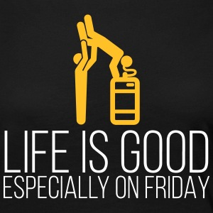 Life Is Good On Fridays - Women's Premium Longsleeve Shirt