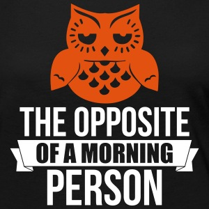 The Opposite of a morning owl - Frauen Premium Langarmshirt