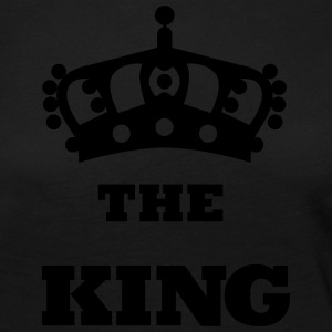 THE_KING - Premium langermet T-skjorte for kvinner