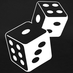 Two Dice At The Casino - T-shirt manches longues Premium Femme