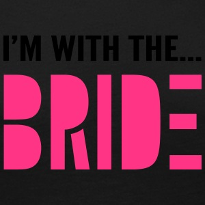 I'm with the Bride - Bridesmaid T-Shirt - Women's Premium Longsleeve Shirt