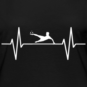 My heart beats for football! present - Women's Premium Longsleeve Shirt