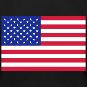 American flag (colors customizable!) - Women's Premium Longsleeve Shirt