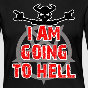 Going to hell - Dame premium T-shirt med lange ærmer