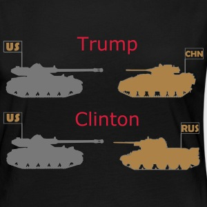 Trump or Clinton - Women's Premium Longsleeve Shirt
