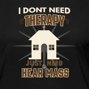 No Therapy - Lets hear Mass - Women's Premium Longsleeve Shirt