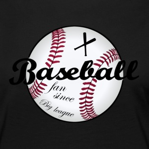 Big League Baseball - Dame premium T-shirt med lange ærmer