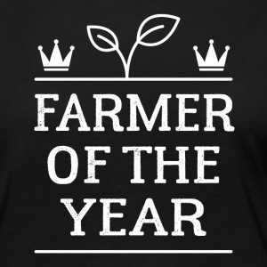 Farmer of the Year - Långärmad premium-T-shirt dam