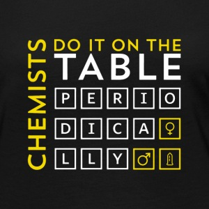 Chemist do it on the table periodically Geschenk - Frauen Premium Langarmshirt