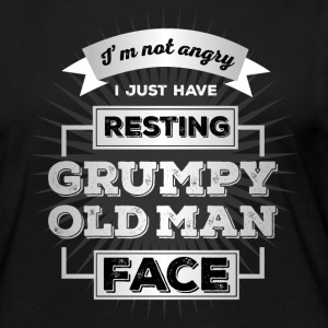 resting grumpy old man face