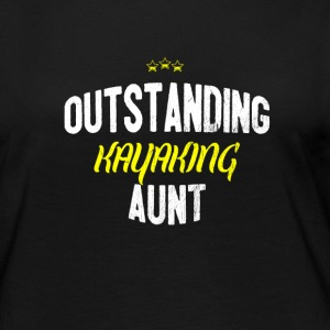 Distressed - OUTSTANDING KAYAKING AUNT - Women's Premium Longsleeve Shirt