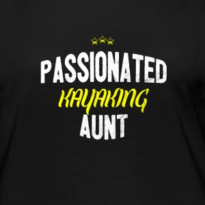 Distressed - PASSIONATED KAYAKING AUNT - Women's Premium Longsleeve Shirt