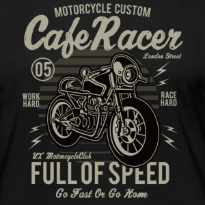 Cafe Racer: Full of speed Custum Motorrad Shirt - Frauen Premium Langarmshirt