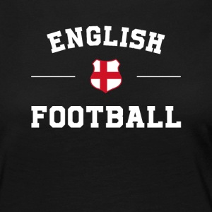 English Football Shirt - anglais de football Jersey - T-shirt manches longues Premium Femme