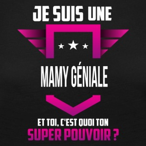 mamy ge niale - T-shirt manches longues Premium Femme