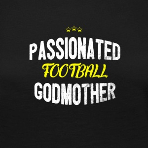 Distressed - PASSIONATED FOOTBALL GODMOTHER - Women's Premium Longsleeve Shirt