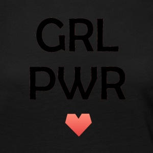 girl Power - T-shirt manches longues Premium Femme