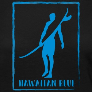 Hawaiian Blue Surfer logo - Women's Premium Longsleeve Shirt