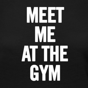 Meet Me At The Gym - T-shirt manches longues Premium Femme