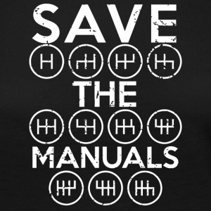 Save the manuals shirt - Women's Premium Longsleeve Shirt