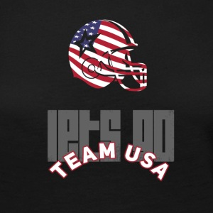 Usa Football Touch down flag America Sports defenes - Women's Premium Longsleeve Shirt