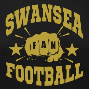Swansea Football Fan - T-shirt manches longues Premium Femme