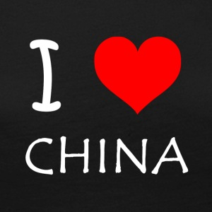I Love China - Camiseta de manga larga premium mujer