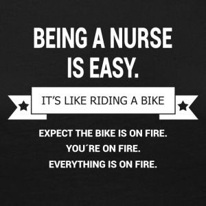 BEING A NURSE - Women's Premium Longsleeve Shirt
