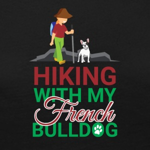 HIKING FRENCH BULLDOG - Frauen Premium Langarmshirt