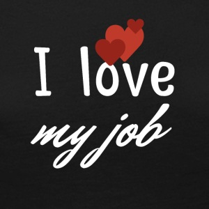 I love my job - Frauen Premium Langarmshirt