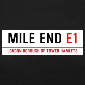 Mile End Street Sign - Women's Premium Longsleeve Shirt
